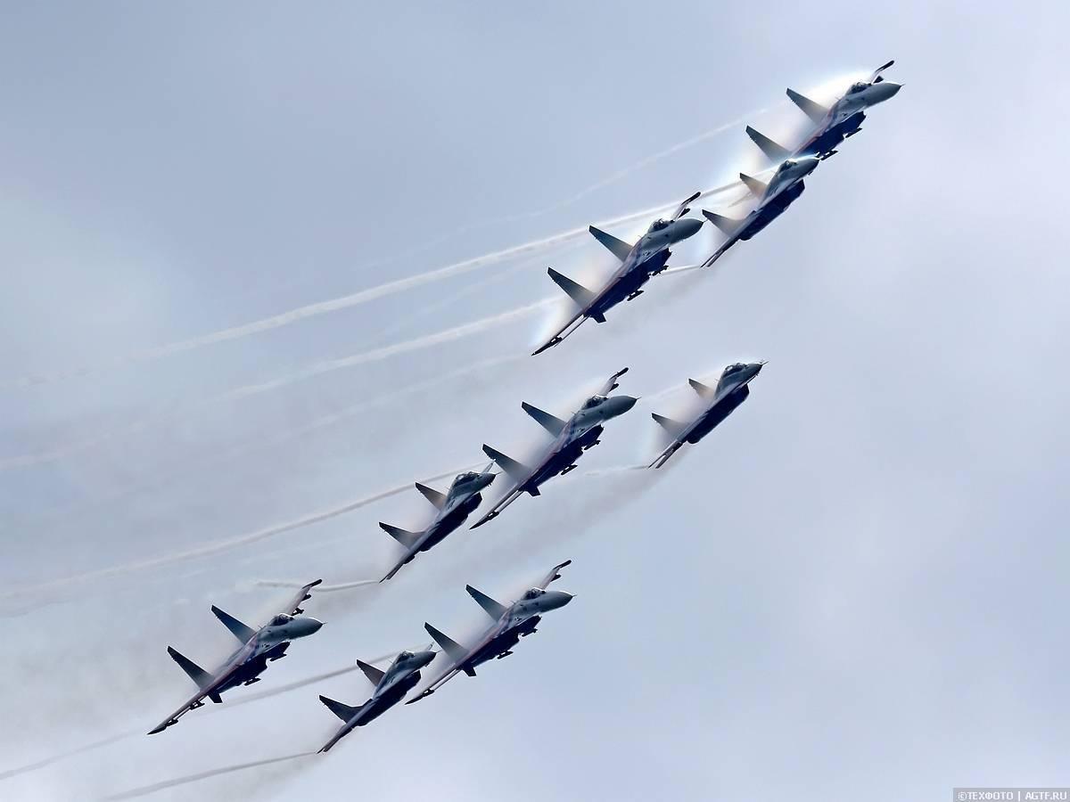 Пилотажная группа Русские Витязи