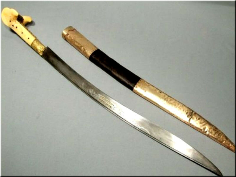 Штыки ятаганы ружейные 19 го века. ятаган – коварный клинок на службе янычар. техника ведения боя, используемая янычарами