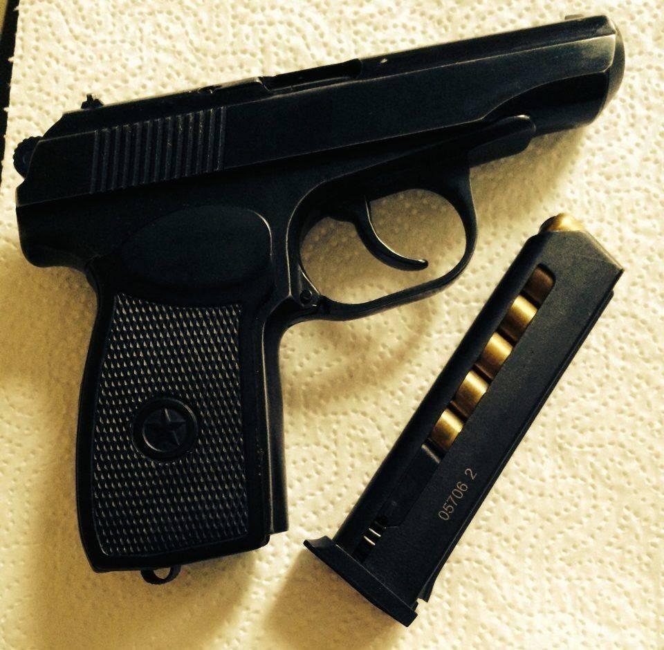 Травматический пистолет Макарова МР-80-13Т