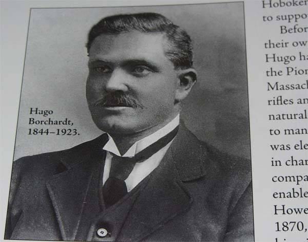 Пистолет борхардта википедия