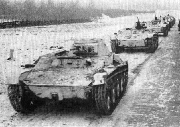 Т-60 – советский легкий танк