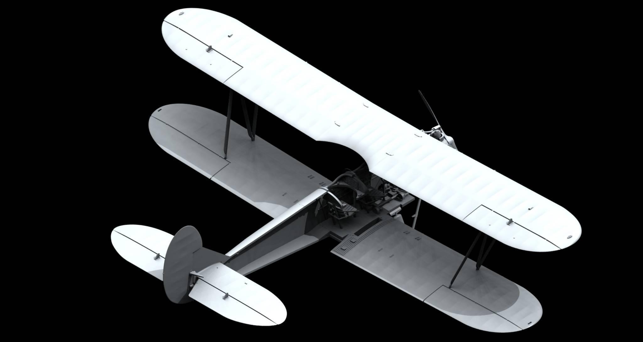 Самолет-разведчик у-2