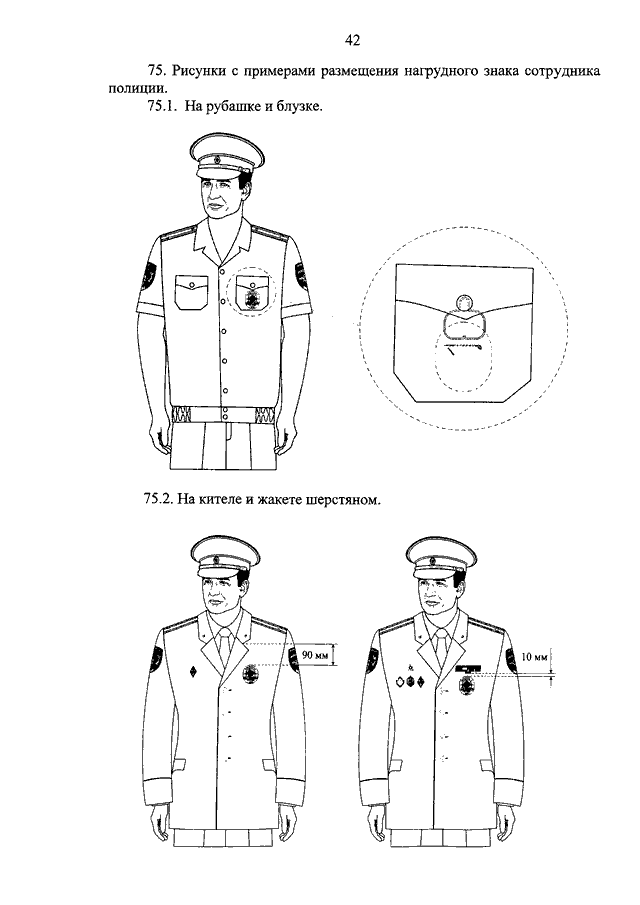 Правила ношения форма мвд нового образца