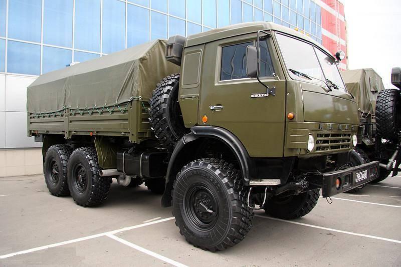 Камаз 5350 - автомобиль многоцелевого назначения для нужд обороны