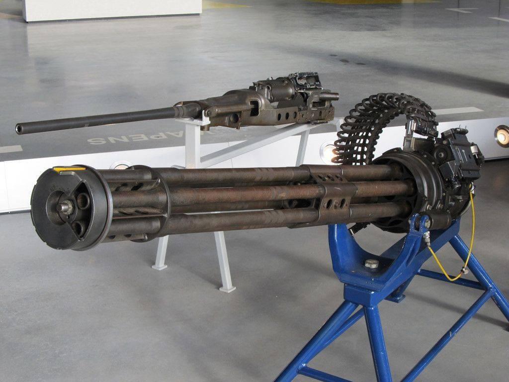 Авиационная пушка m61 vulcan – второе рождение системы гатлинга. карусель смерти: пулемет гатлинга в цель, но не сразу