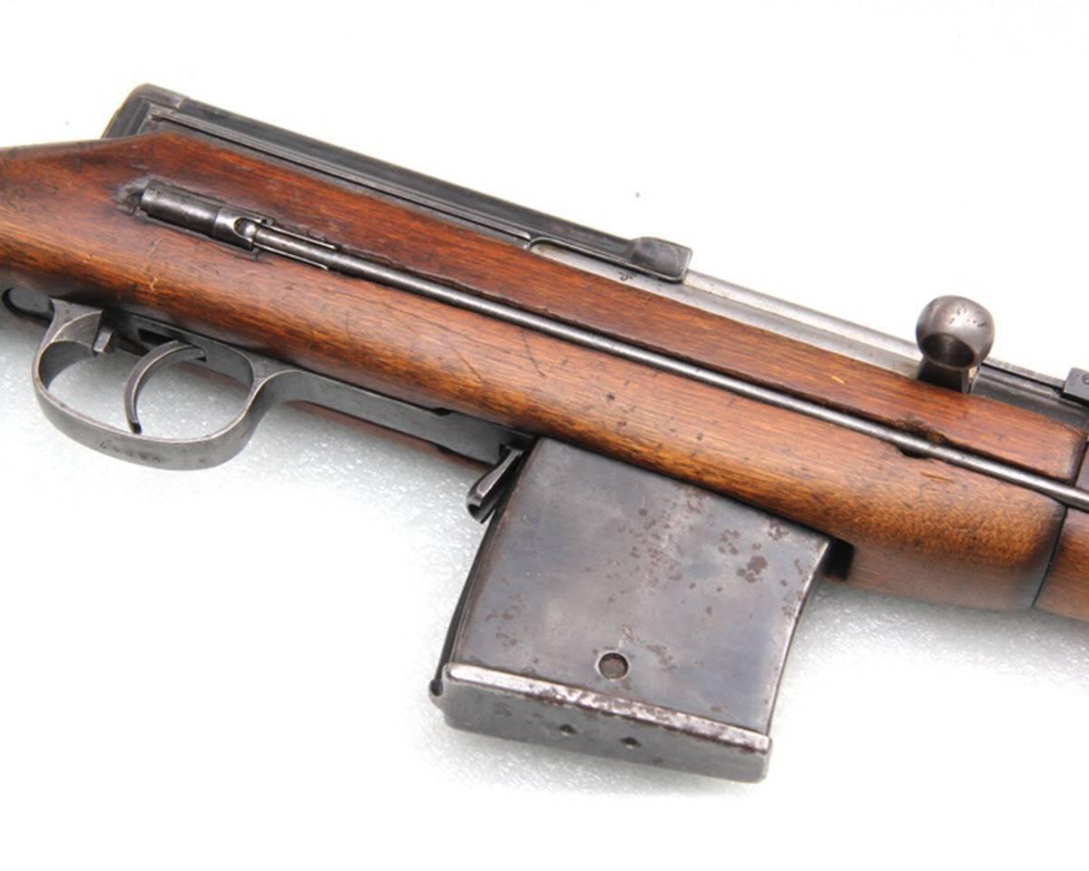 Самозарядная винтовка токарева
