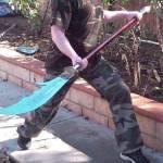 Глефа – причудливое, но эффективное соединение меча, шипа и древка