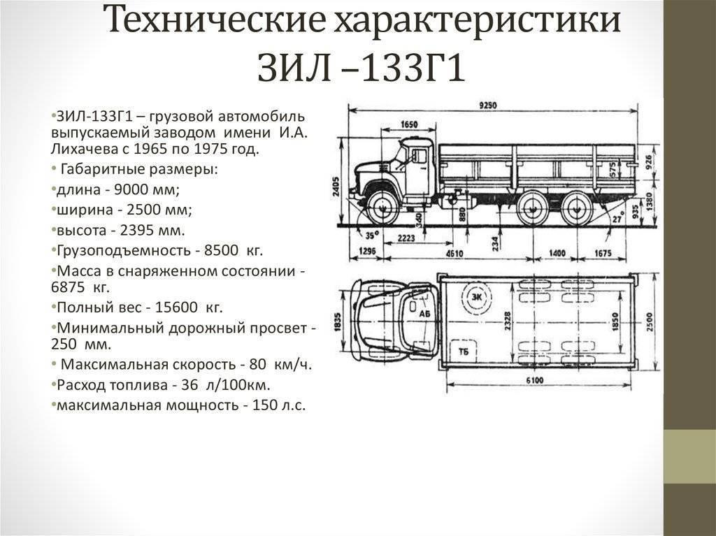 Ширина камаза – размеры различных моделей, расчет габаритов