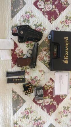 Травматический револьвер гроза 021