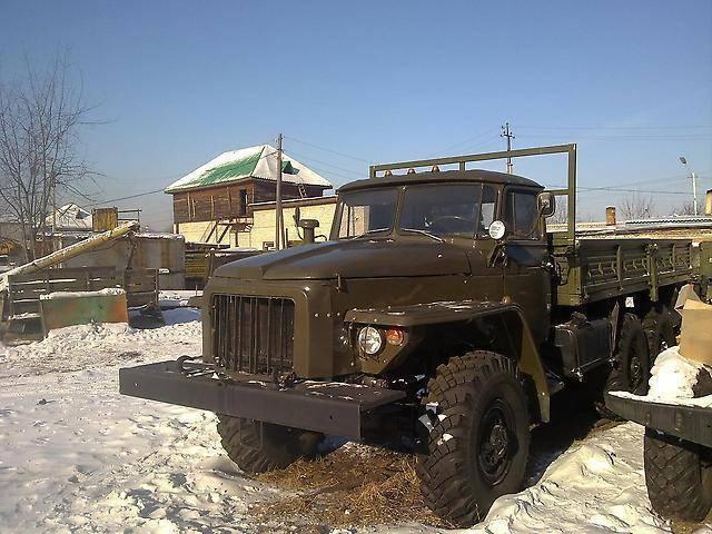 «Урал-375» – армейский «обжора»