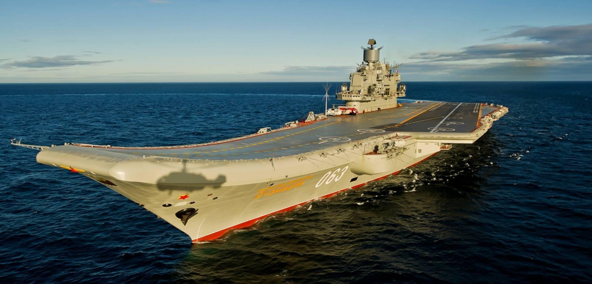 Адмирал кузнецов - тяжёлый авианесущий крейсер (тавкр) проекта 1143.5