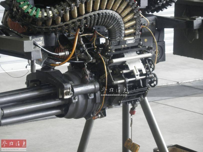 Шестиствольный пулемет вулкан. авиационная пушка m61a1 vulcan (сша)