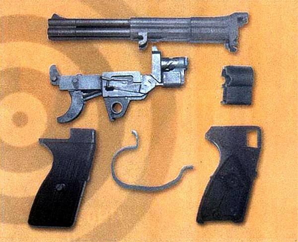Пистолет для подводных операций – ССП-1