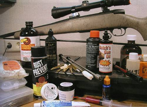Средства чистка оружия