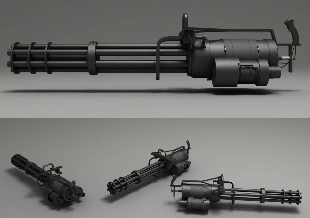 Адские «гатлинги» длябронемашин: начто ставят многоствольные пулемёты