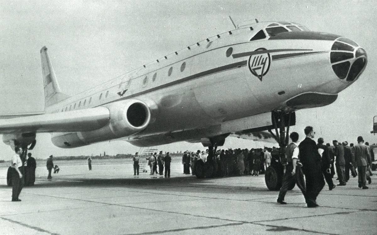 Ту-104 фото. видео. характеристики. скорость. вес
