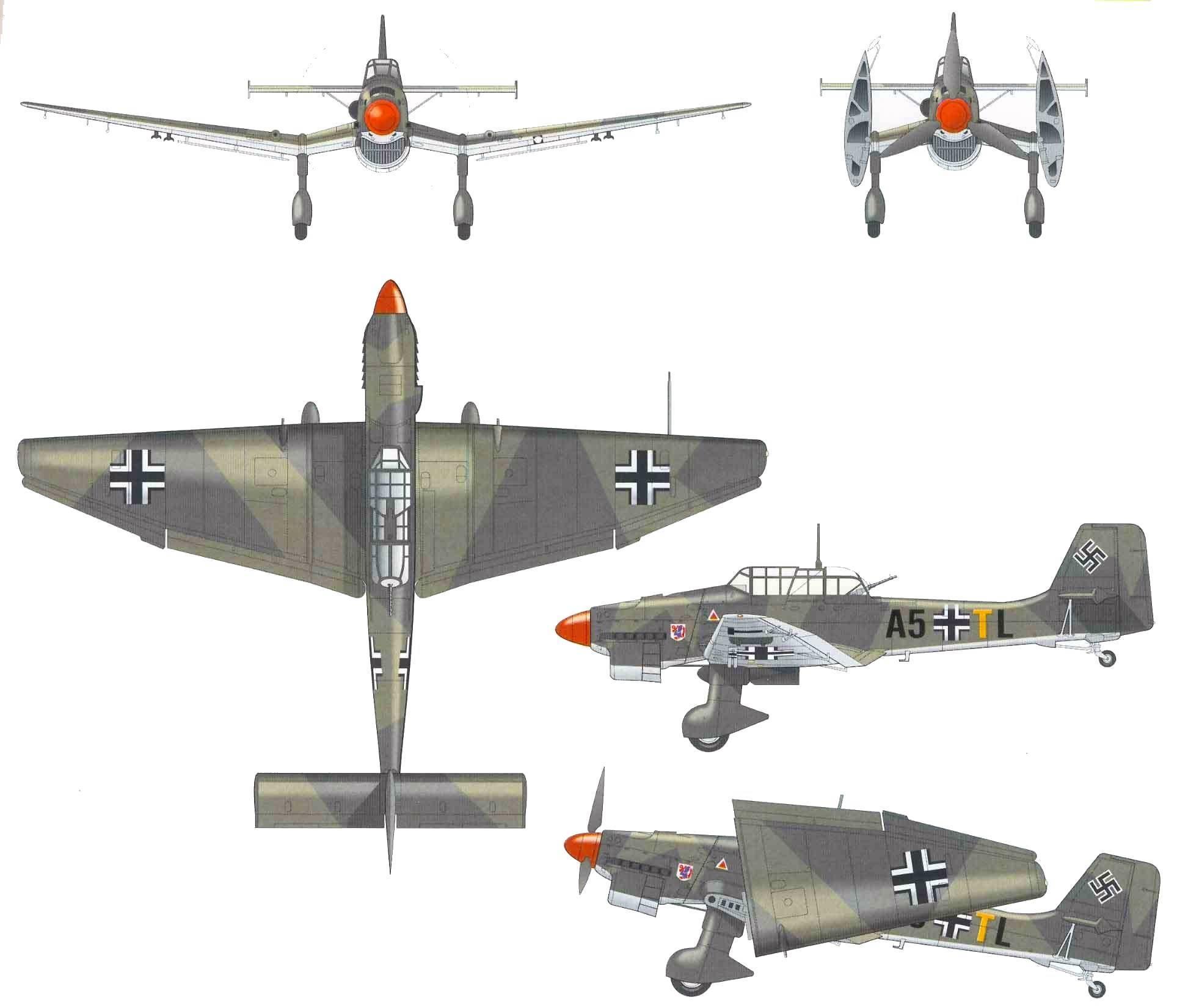 Junkers ju 87 википедия