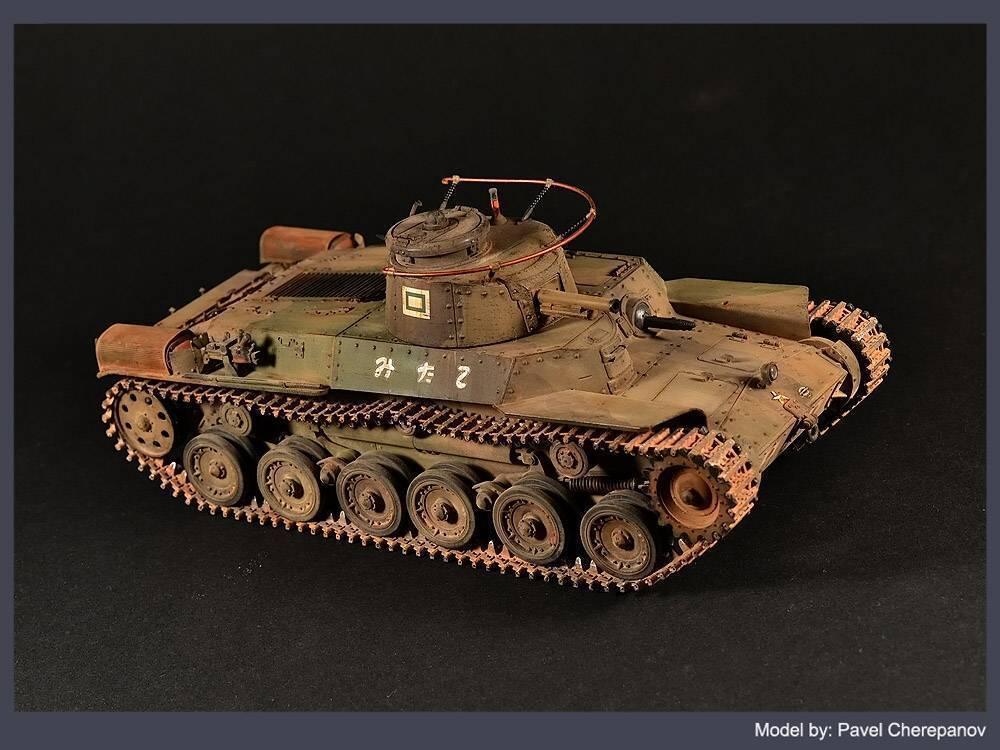 Чи-ха — главный японский танк второй мировой
