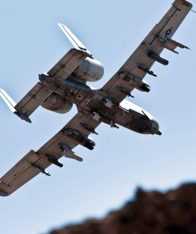 A-10 Thunderbolt II небесный хищник