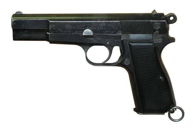 Пистолет browning hp