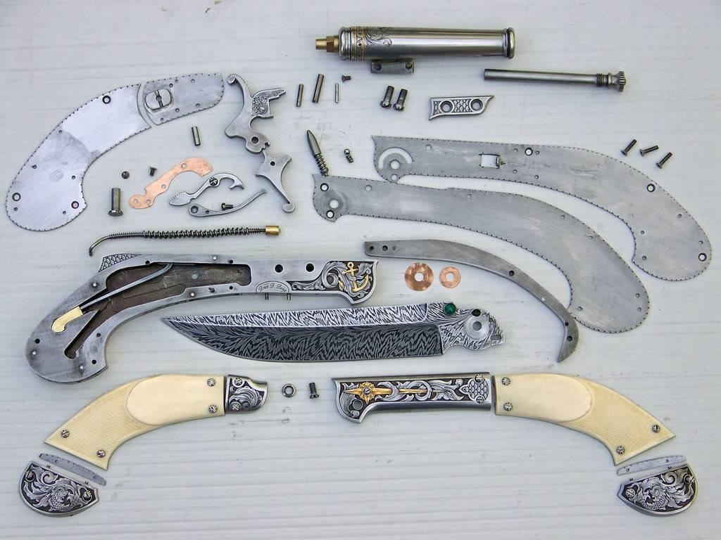 Выкидной нож