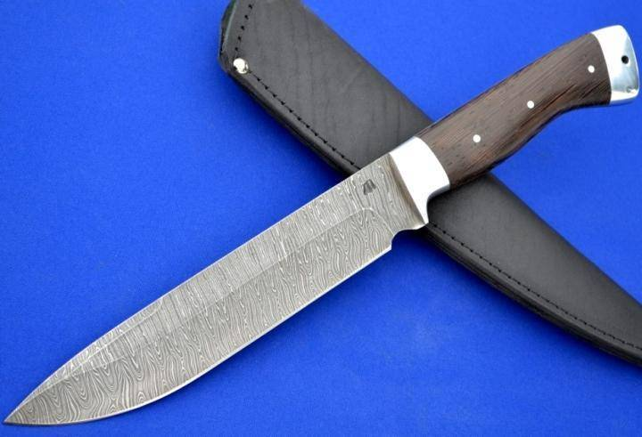 Характеристики ножей из булатной стали, сфера их применения