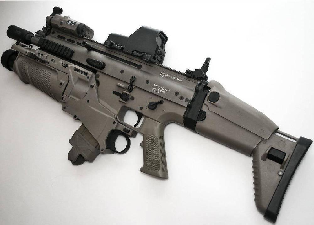 Штурмовые винтовки Бельгии