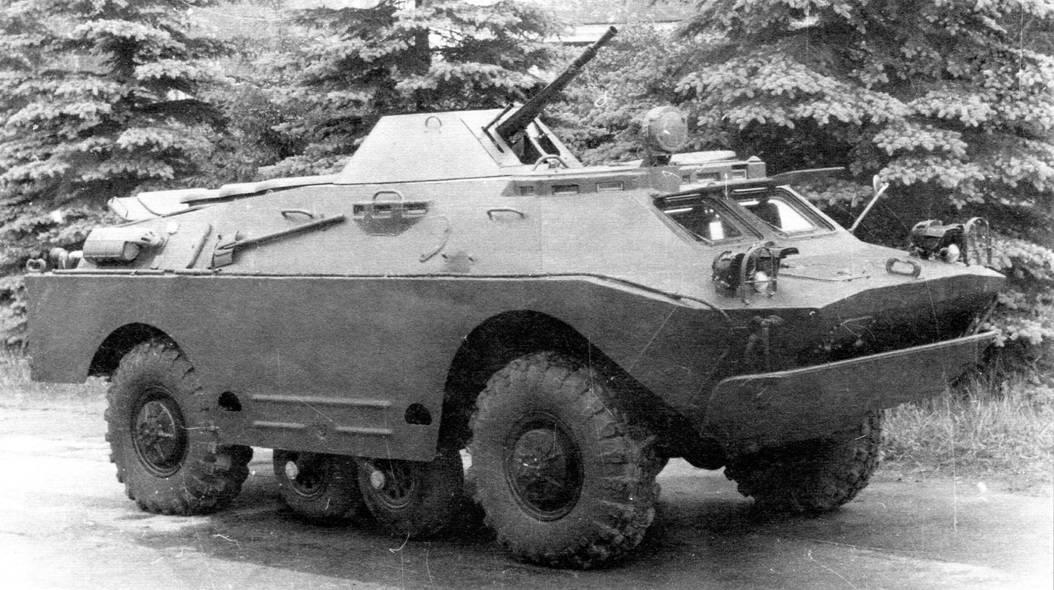 БРДМ-2 – старожил в армии