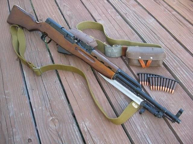 Самозарядный карабин симонова — википедия. что такое самозарядный карабин симонова