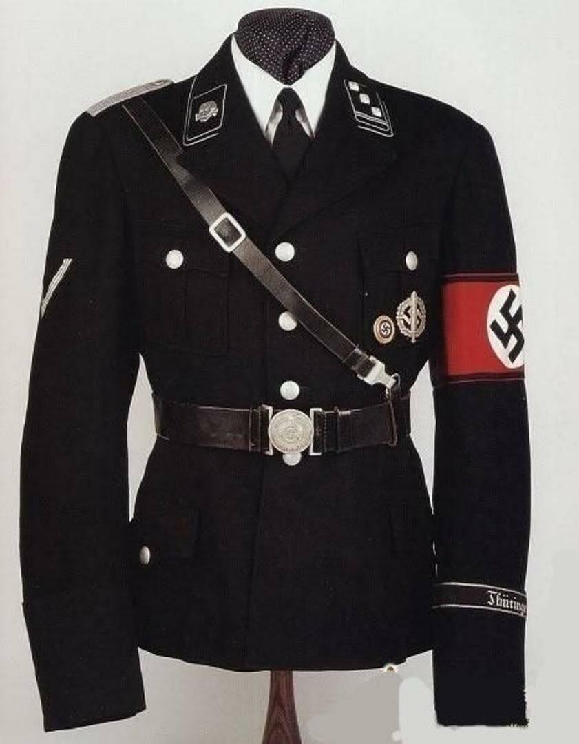Форма СС: до и во время второй Мировой войны