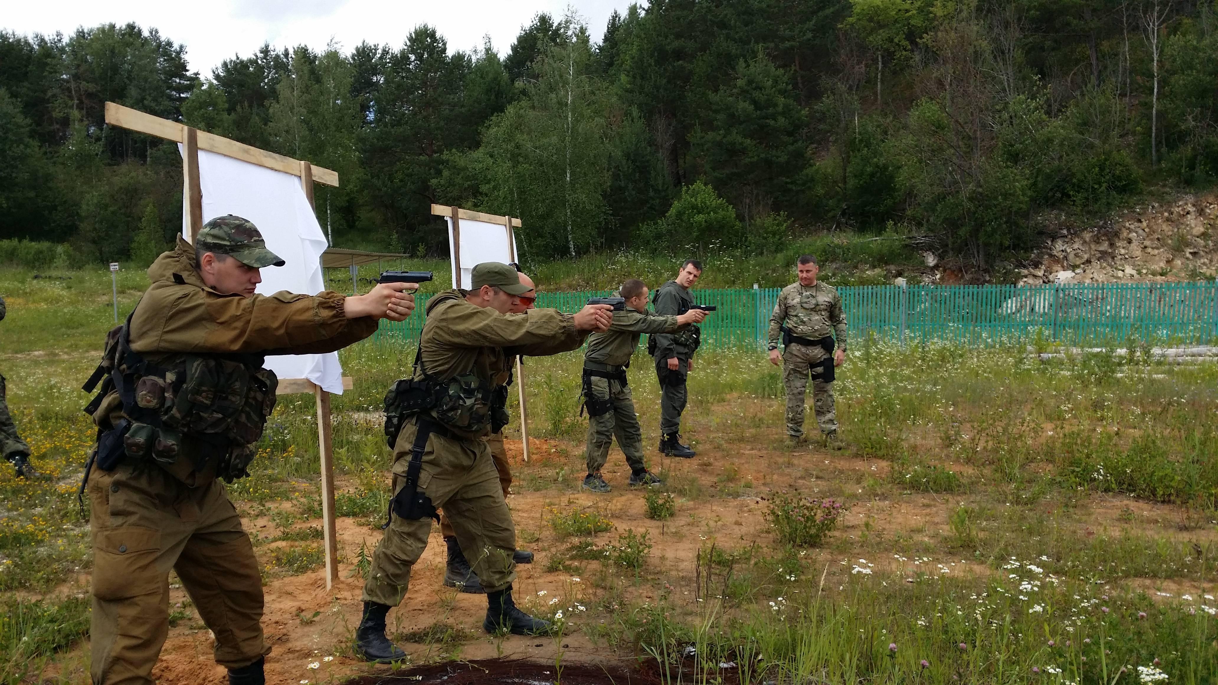 Методика тренировки стрелкового упражнения в практической стрельбе