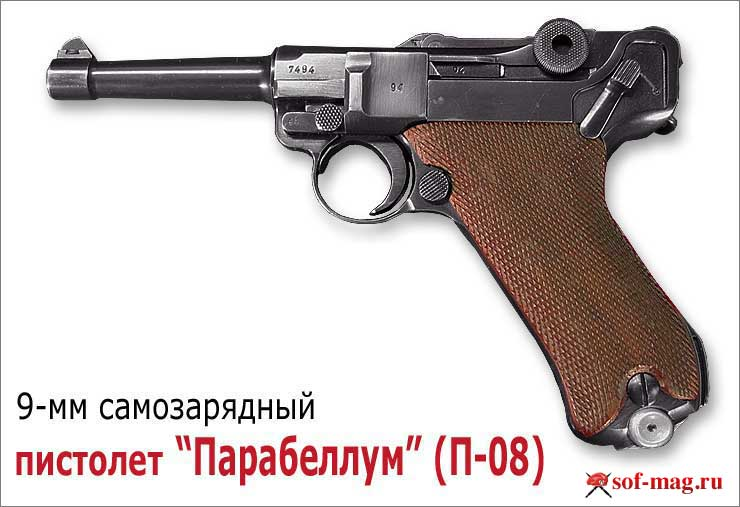Парабеллум - уникальный пистолет Георга Люгера