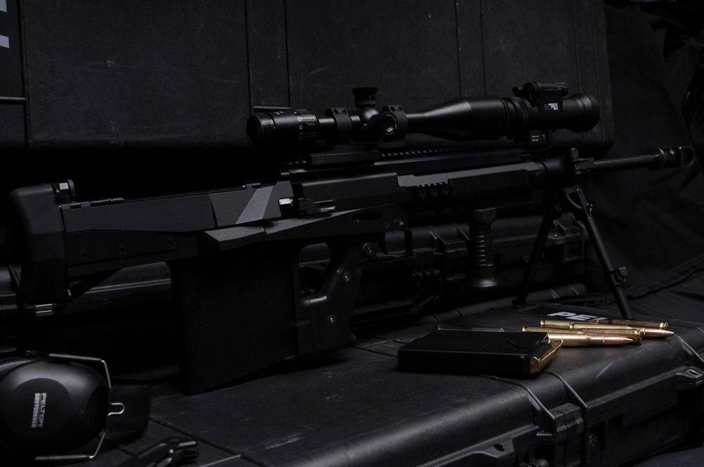 Крупнокалиберная снайперская винтовка lynx gm-6