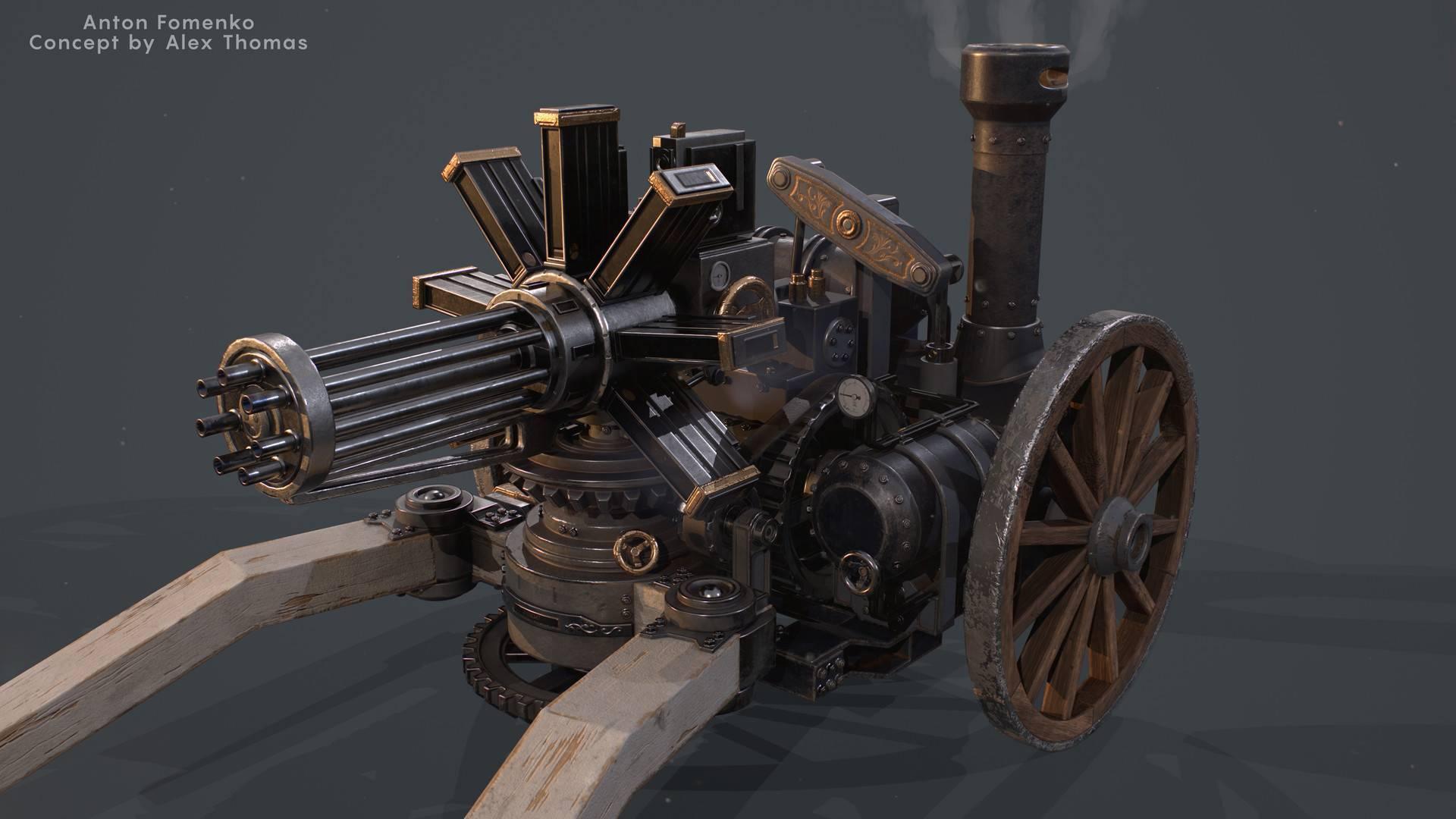 Шесть стволов одного пулемёта | телеграф | вокруг света