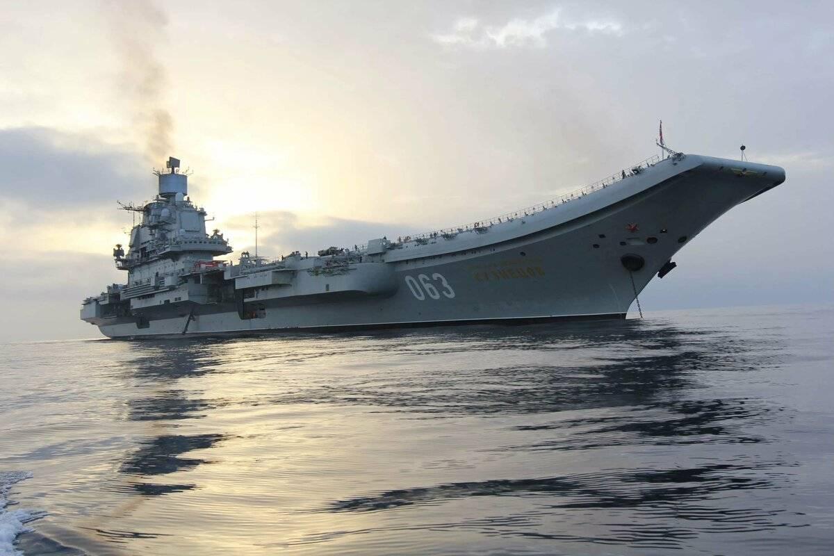 Огнем и ключом: что произошло на авианосце «адмирал кузнецов»