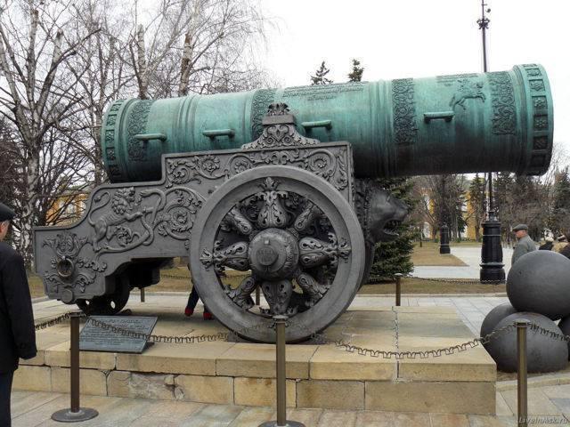 Царь-пушка в кремле – история кратко о легендарном орудии | достопримечательности москвы