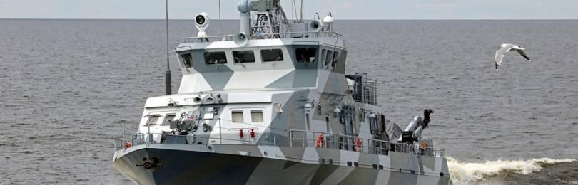 Противодиверсионные катера проекта 21980