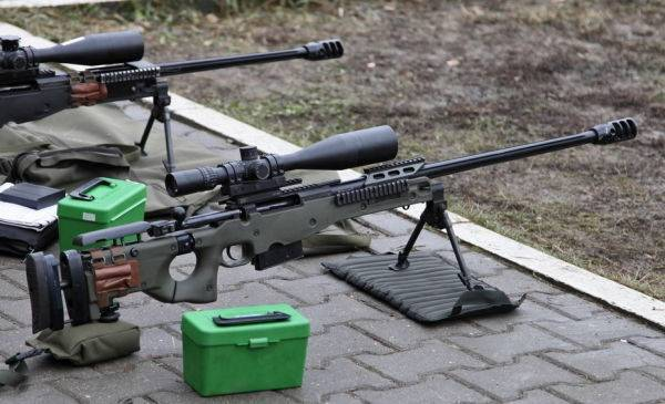 Снайперская винтовка accuracy international at308