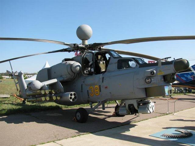 ми-28н «ночной охотник» — боевой ударный вертолет