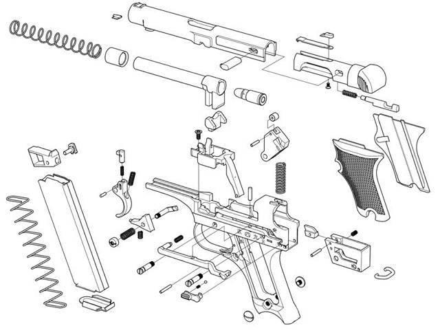 Намба пистолет - nambu pistol