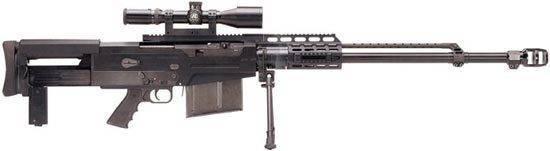 Крупнокалиберная снайперская винтовка accuracy international aw50