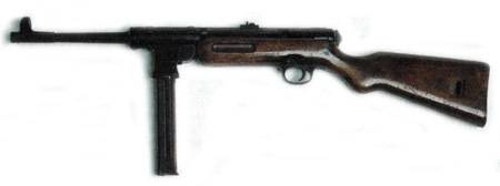 Пистолет-пулемет MAT-49