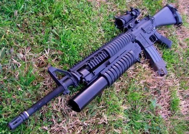 Самозарядная винтовка POF-USA
