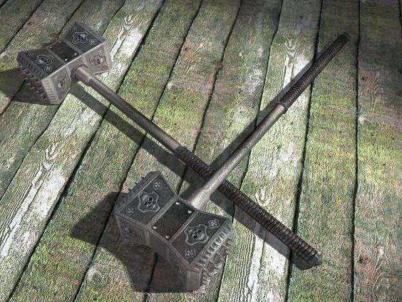 Передовой боец громового молота