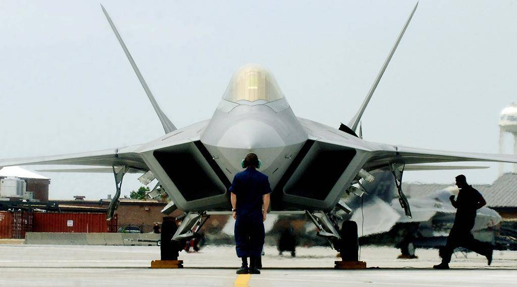 Lockheed/boeing f-22 raptor