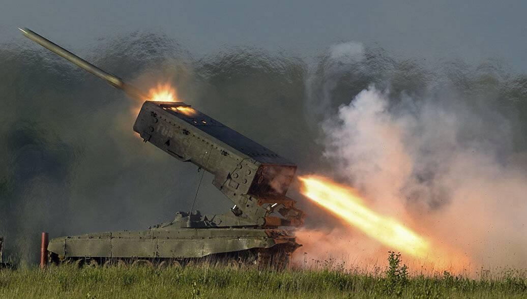 Ракетная установка буратино. огнемет «буратино» – золотой ключик от позиций противника