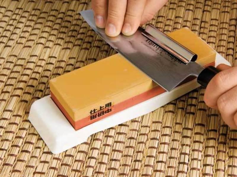 Заточка ножей: рекомендации специалистов. заточной брусок – вековой соратник ножей алмазные заточные бруски