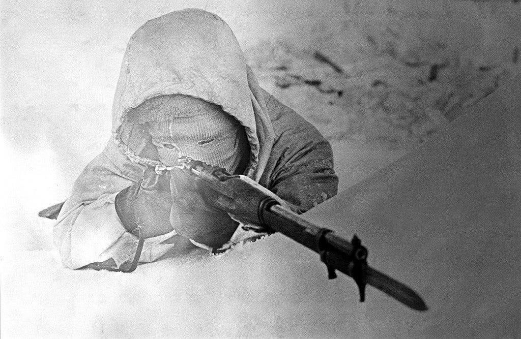 Финский снайпер симо хяюхя: по прозвищу «белая смерть»