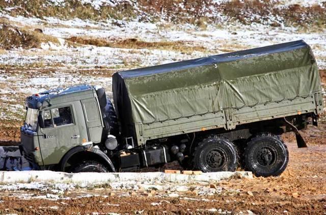 Камаз 5350 – армейский «мустанг»
