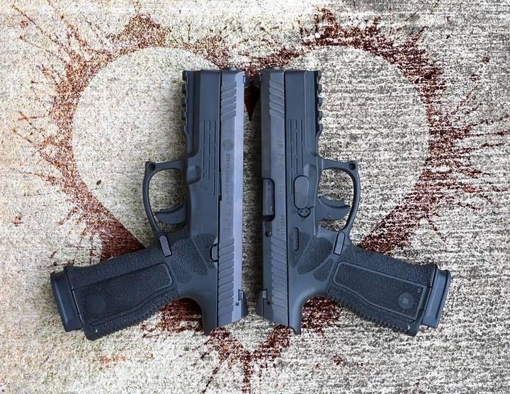 Платформа Steyr A2 MF, пистолет - Steyr L9-A2 MF + семейство